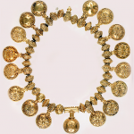 Golden necklace from Bulgaria
