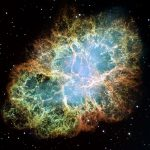 Remnants of a star explosion (NASA)