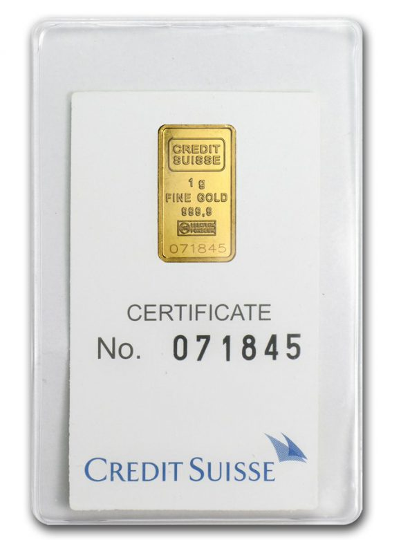 Gold in small denominations - Credit Suisse