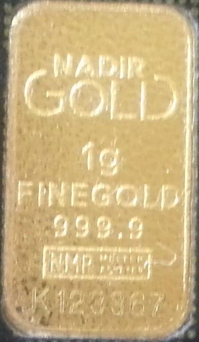 Gold in small denominations - Karatbars bar