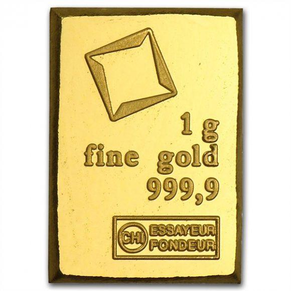 Gold in small denominations - Valcambi bar