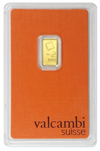 Gold in small denominations - Valcambi