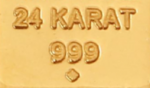What is 24 karat gold? High-end gold, usually - both