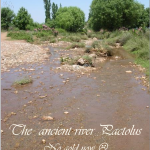 First coins in history - the river Pactolus and a legend - the river