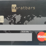 Overview of Karatbars MasterCard debit card (up-to-date info) - front