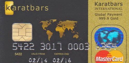 Overview of Karatbars MasterCard debit card (up-to-date info)