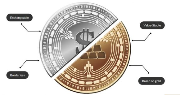 The world will soon see a gold-based cryptocurrency. A KaratBank coin.