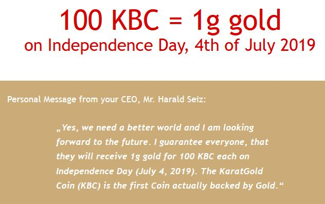 A new excuse to celebrate - Karatbars announces July 4 as Gold Independence Day