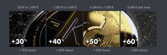 Until Friday (Nov 30) you can buy KCB tokens at 60% discount PLUS get 120% bonus on top