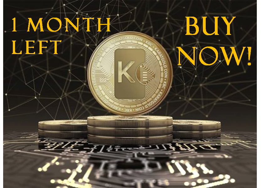 Buy gold backed KCB coin today (1 month left)
