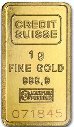 How and where to buy 24K gold bars online safely_Credit Suisse