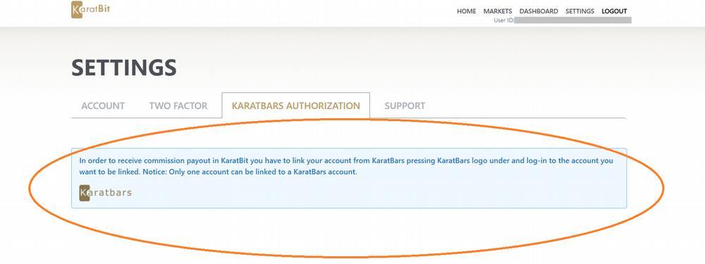 How to link Karatbit to Karatbars (do before hard fork)