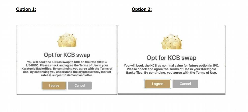 KCB Hardfork options (pick one before Jan 4, 2020)