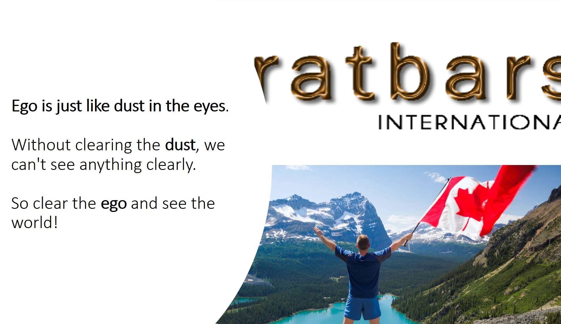 Is Karatbars legal in Canada - Yes, if you let go of ego