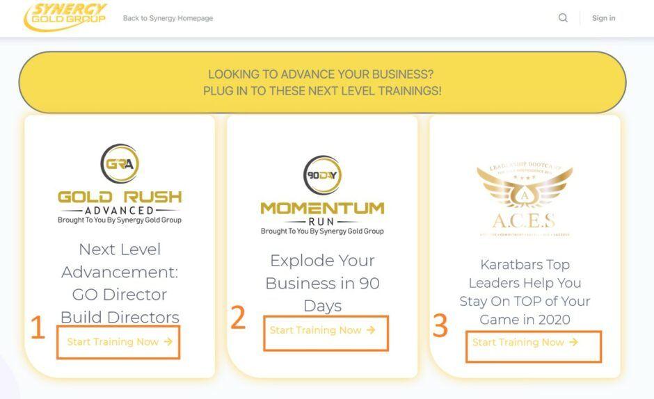 Karatbars affiliate training videos 2020